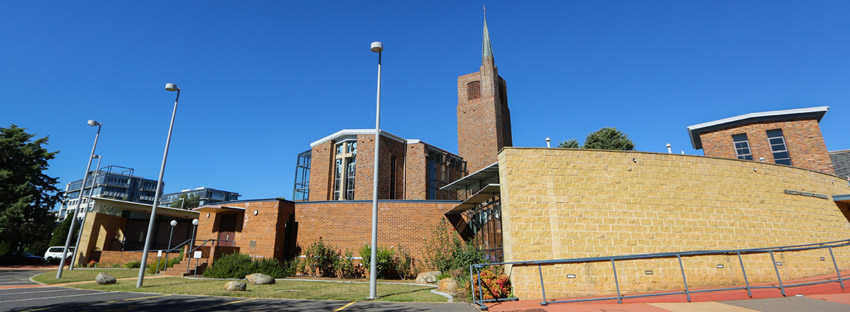 Wesley Uniting Church - Front View
