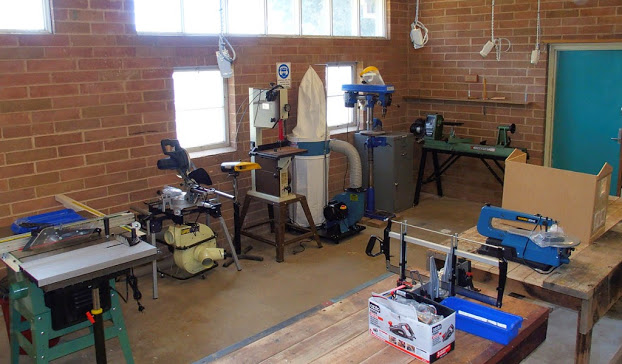 Forrest Men's Shed - Workshop Opening